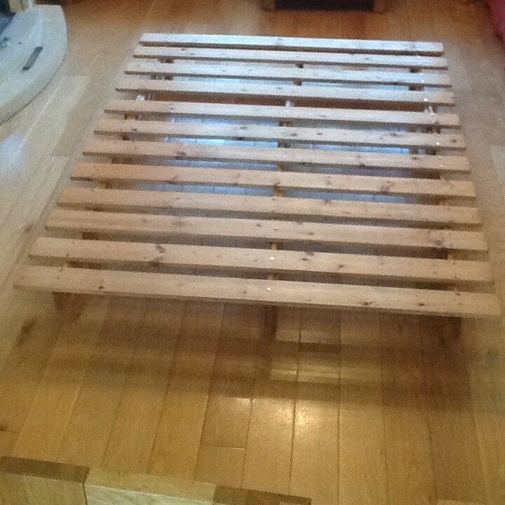 Solid Pine Futon Bed Base In Totton