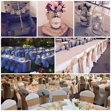 Perth Party & Event  Hire - Chair Cover Hire $1.35 Willagee Melville Area Preview