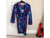 Boys Spider-Man dressing gown