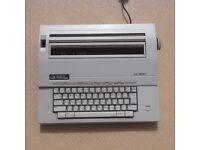 Electric typewriter.