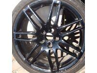 Alloy wheel replica Audi VW Rs8jx18