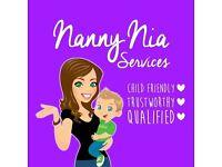 Nanny Nia Services