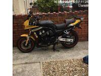 Yamaha Fazer 600cc sports tourer