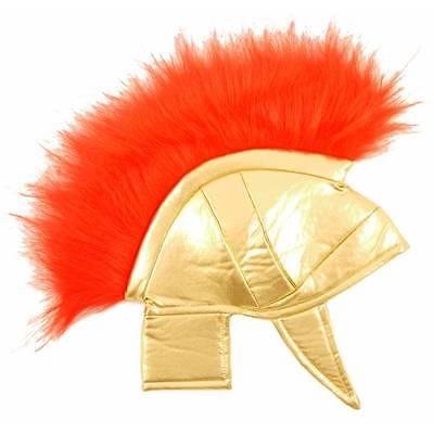 Jungen Kinder Römischer Gladiator Helm Spartucus Spartaner Kostüm Hut