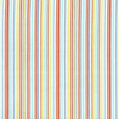 Mini Giraffes Slender Stripe Blue for Michael Miller, 1/2 yd 100% cotton fabric