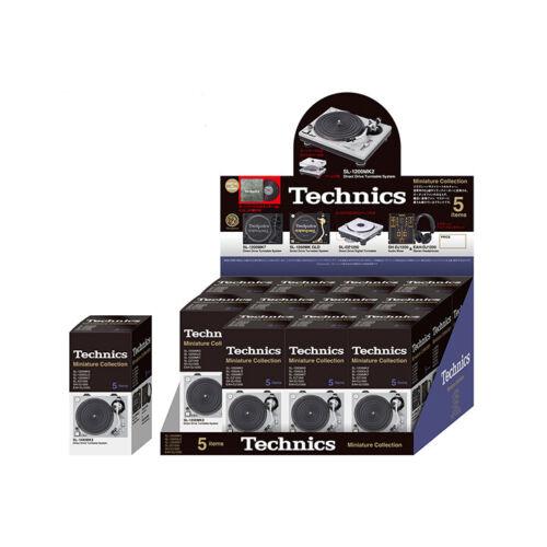 Technics Miniature Collection Turntable Audio Mixer DJ Figure 12pieces BOX New