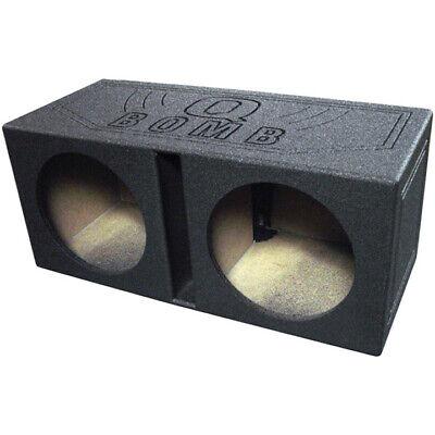 """Qpower QBOMB10V Qbomb Dual 10"""" Woofer Box Ported"""