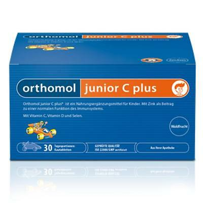 ORTHOMOL Junior C plus Kautabletten Waldfrucht f 30 Tage PZN 10013239  ANGEBOT