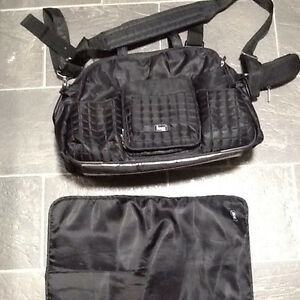 Black LUG diaper bag excellent condition