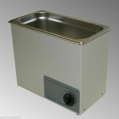 New Sonicor Stainless Steel Tabletop Ultrasonic Cleaner 1.5 Gal S-150t