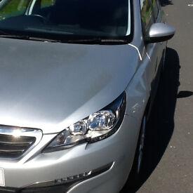 Peugeot 308 Active SW Pure Tech S/S 1.2L - Silver/Estate/Petrol/Manual/24K Milage/MOT/