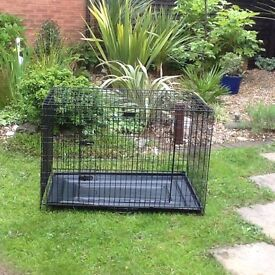 Dog cage (crate) 28 high x 41 length sold as seen, pick up only