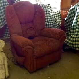 Electric riser recliner chair