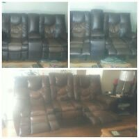 Ashley couch and love seat 4 sale