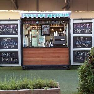 Coffee Cafe Container Mobile Unit Carrum Downs Frankston Area Preview