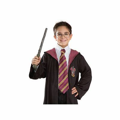 Harry Potter Unisex Boys Girls Maroon  Yellow Tie Book Week Fancy Dress