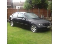 BMW compact for sale Good car and very reliable 600 Ono. Call me on 07495623006
