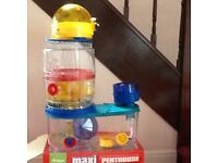 Rotastack MAXI Hamster Cage Penthouse with TWO extra levels added