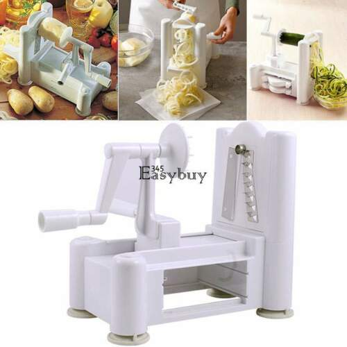 Tri-Blade Vegetable Spiral Slicer Spiralizer Veggie Cutter ...