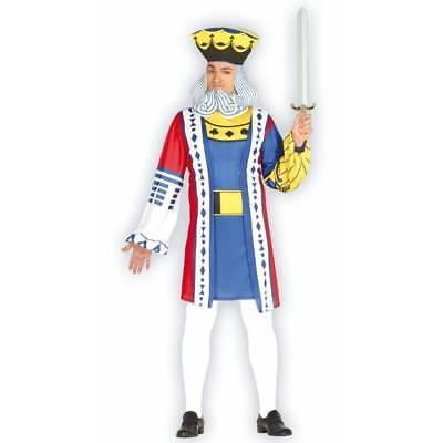 König Deck von Karten Spielkarte Kostüm Wunderland Kostüm - Deck Von Karten Kostüm