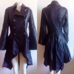 Leather steampunk tailcoat jacket (size 10) Sydney City Inner Sydney Preview