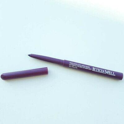 Crayon contour des lèvres violet rétractable tenue 12 heures maquillage