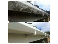 Deep uPVC clean, guttering clear etc Thor Cleaning Services