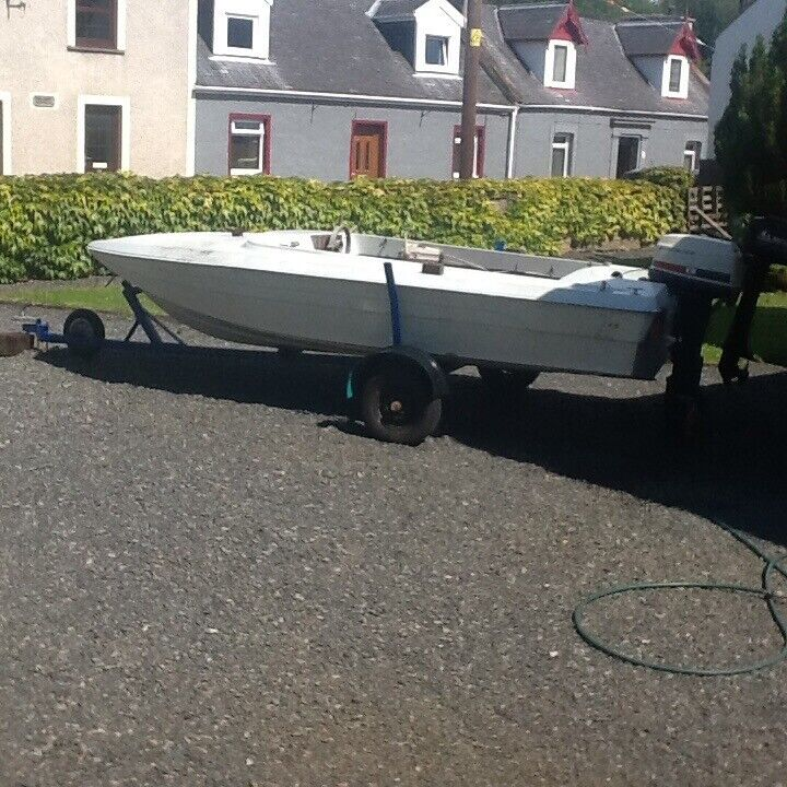Marina 14ft boat fitted out for fishing | in Stranraer, Dumfries and  Galloway | Gumtree