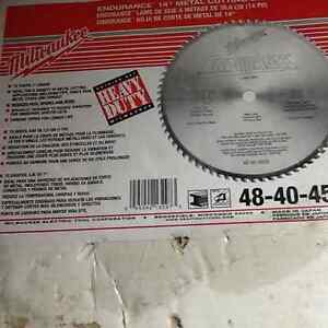 "14"" metal cutting saw blades"