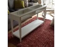 White Console table ( IKEA)