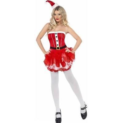 Fancy Dress Sale (*SALE ** Santa Lady Christmas Tutu Xmas Ladies Fancy Dress Costume)