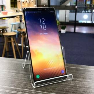 Like new Samsung Galaxy Note 8 Gold 64G au model WARRANTY INVOICE