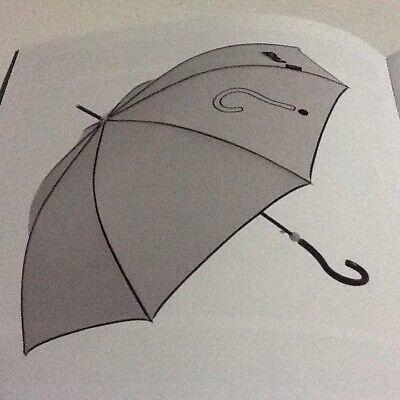 Paraguas Joy Heart Baston Gris