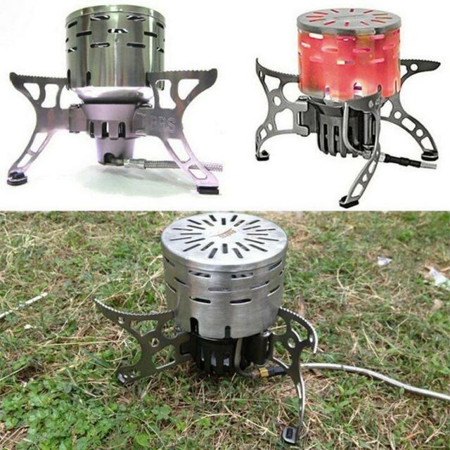 Outdoor Camping Far Infrared Heating BBQ Stove Burner Cover Tent Heater Warmer Z