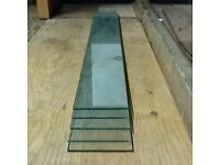"5 x Pieces Of Glass For Shelving 50"" x 26"" x 1/4"""