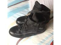 Flint motorcycle boots size 11