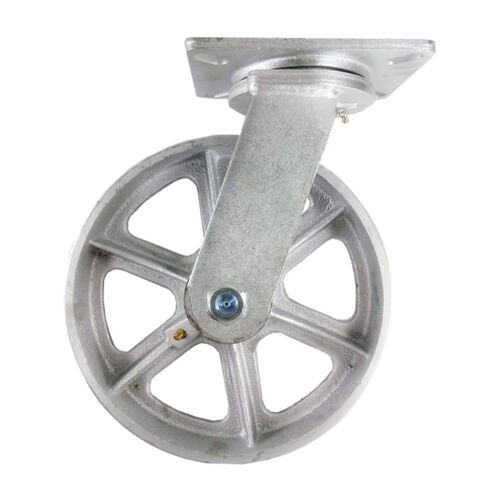 "10"" x 3"" Steel Wheel Caster - Swivel"