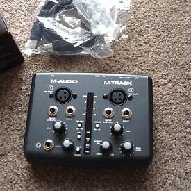 M audio music equipment