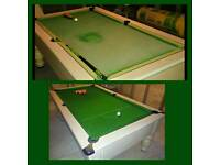 POOL TABLE Re-clothing Sales Servicing Repairs Spares & Accessories