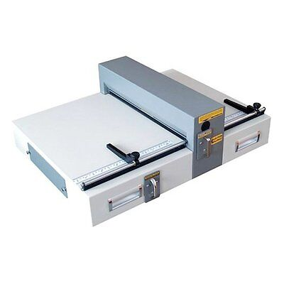 Electric Creasing And Perforating Machine E460 Table Top 18 Bindery Equipment