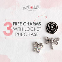FREE 3 CHARMS WITH LOCKET ORDER