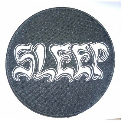 """Sleep """"Logo"""" Woven Patch - NEW OFFICIAL holy mountain dopesmoker om"""