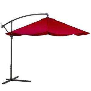 Red Garden Umbrella