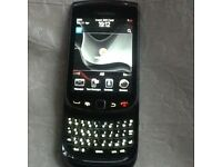 Blackberry torch slide on vodaphone with charger