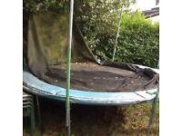 Super Tramp 12ft Trampoline with net