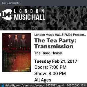 Tea Party London Music Hall