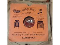 Collection of 150 78rpm records various artists
