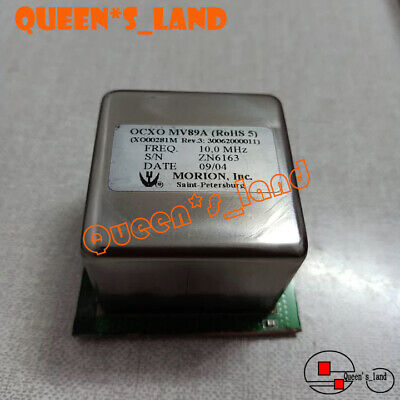 2009 Yearsmorion Double Oven Mv89a 10mhz 12v Sine Wave Ocxo Crystal Oscillator