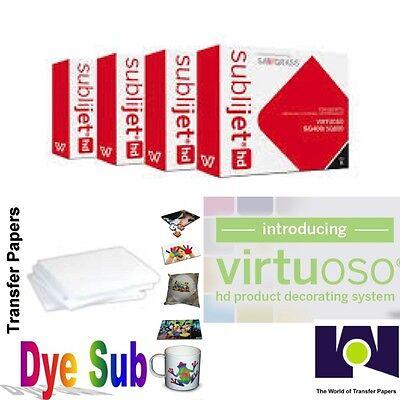 Sawgrass Virtuoso Ink Cartridges Sg400sg800 Cmyk Set 100 Sh Dye Sub Paper