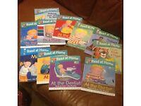 Children's reading books VGC
